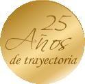 25 años de trayectoria